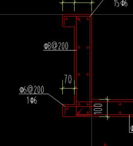 土建,江苏,江苏土建,问题:请教此节点中c6@200的长度应该如何计算?