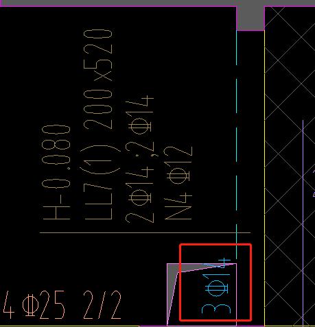 土建,广东,答疑:请教这个连梁有左支座负筋可以原位标注?看了图集连梁是没有的,但软件2021可以-广东土建,