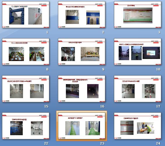 安全文明施工,工地标准化,安全文明管理培训讲义PPT(图片丰富)