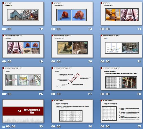 脚手架,脚手架基础知识及安全检查(55页)、相关强制性条文归纳(77页)PPT培训课件