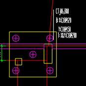 土建,辽宁,答疑:这个桩承台上面的标注都该怎么理解,上面的一个粉色圆圈该怎么理解,谢谢-辽宁土建,