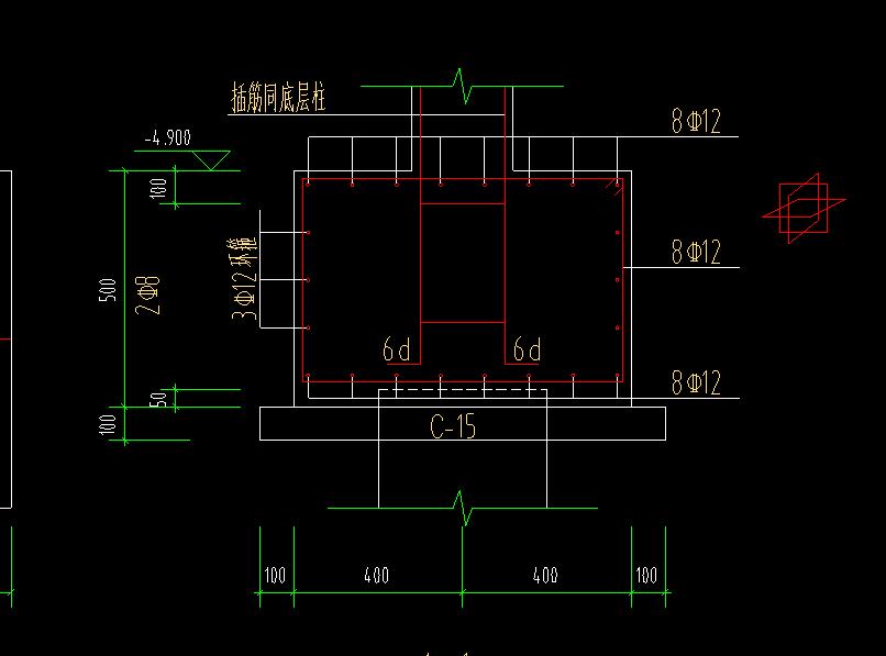 土建计量GTJ,江苏,答疑:请教这种承台的钢筋配筋如何设置,是环型-江苏土建计量GTJ,