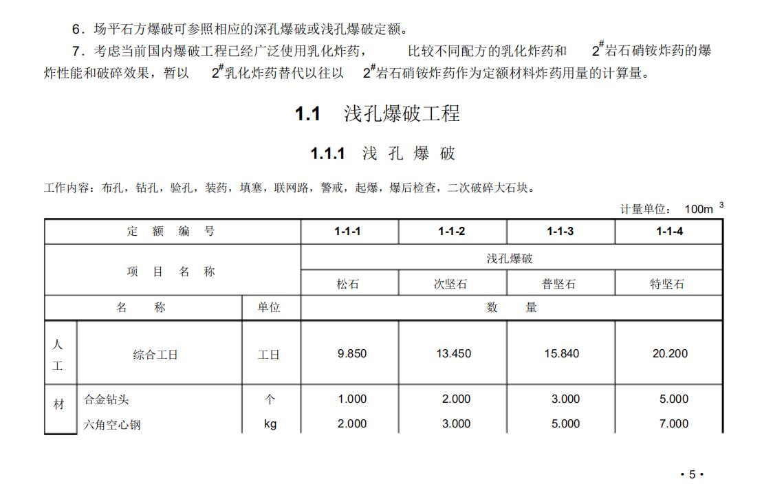 GYD-102-2008,GYD102-2008,定额,工程消耗量定额,爆破工程消耗量定额,GYD-102-2008 爆破工程消耗量定额