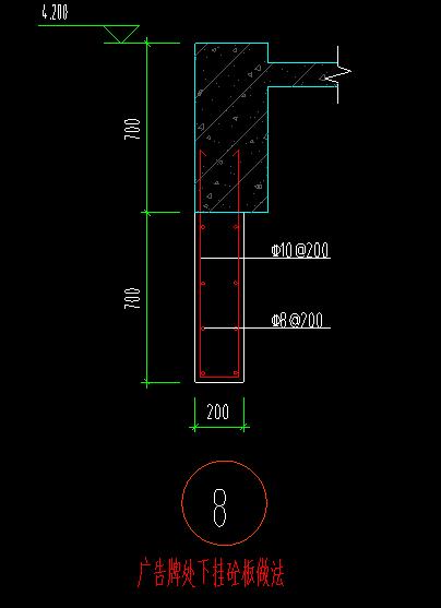 土建,安徽,答疑:这个梁下挂板用什么构件绘制比较容易布置钢筋-安徽土建,
