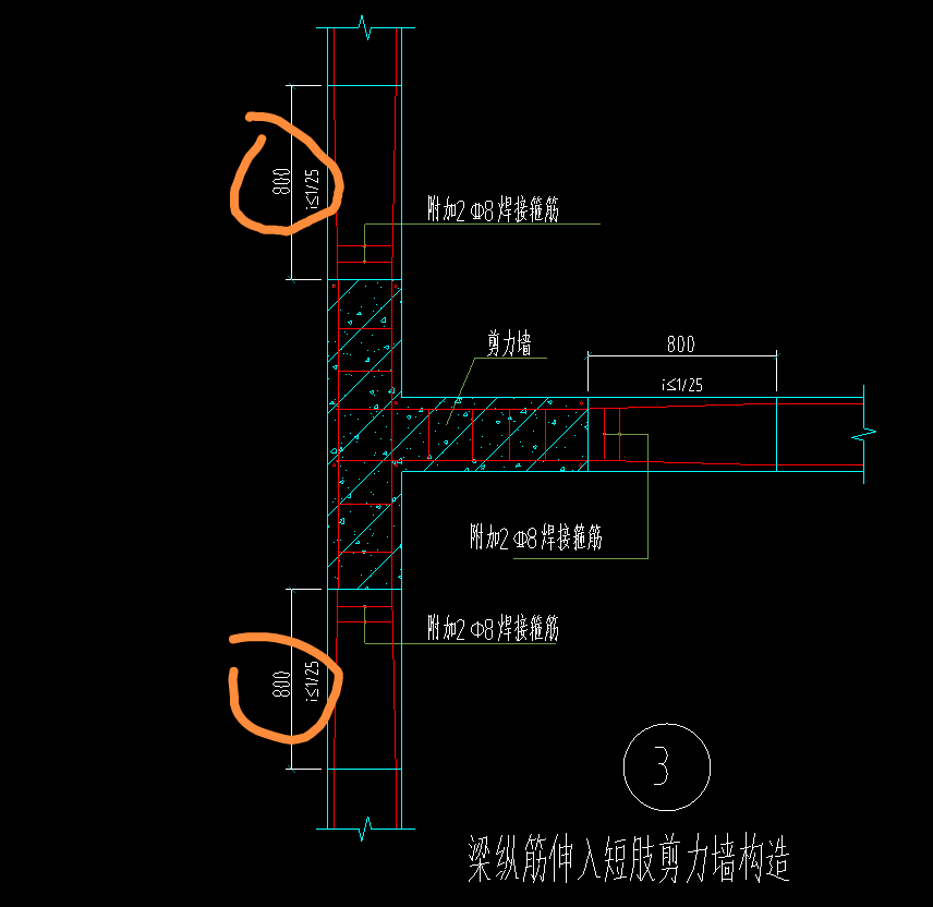 土建,土建计量GTJ,安徽,答疑:请教这部分钢筋如何处理?如何设置?-安徽土建,土建计量GTJ,