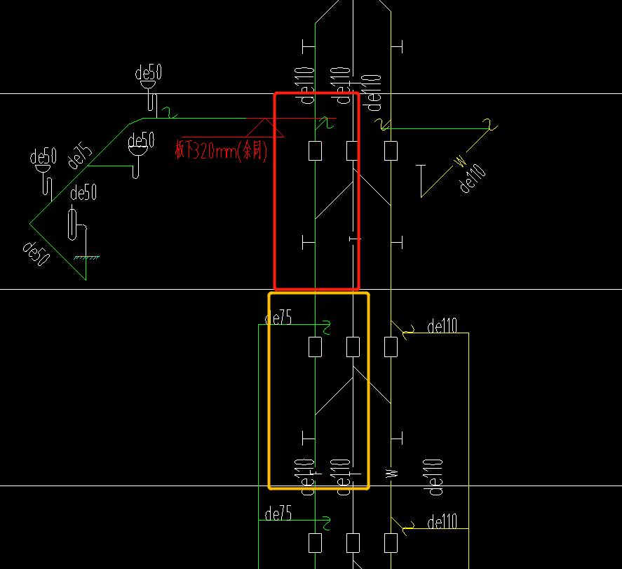 安装,浙江,答疑:请教给排水的立管软件设置安装高度的时候,是按照层高来设置还是水平管到水平管设置啊-浙江安装,