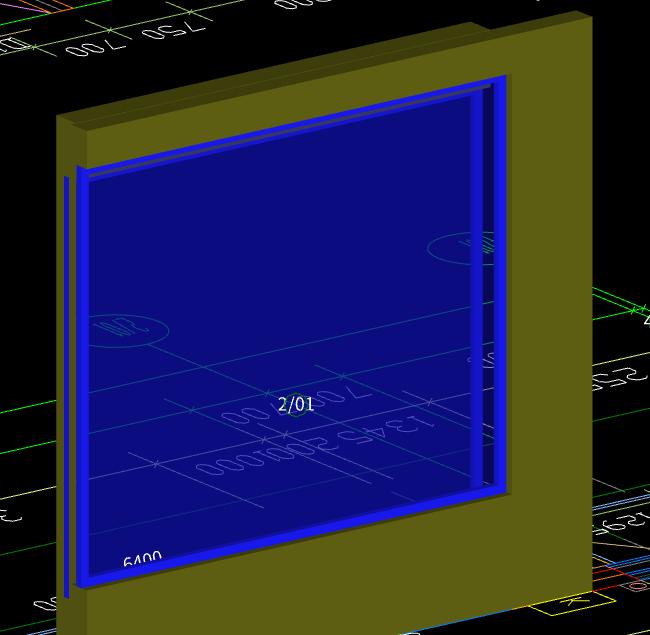 土建,福建,答疑:这窗户是这样绘制吗?为什么内外各设计一堵墙和一扇窗?-福建土建,