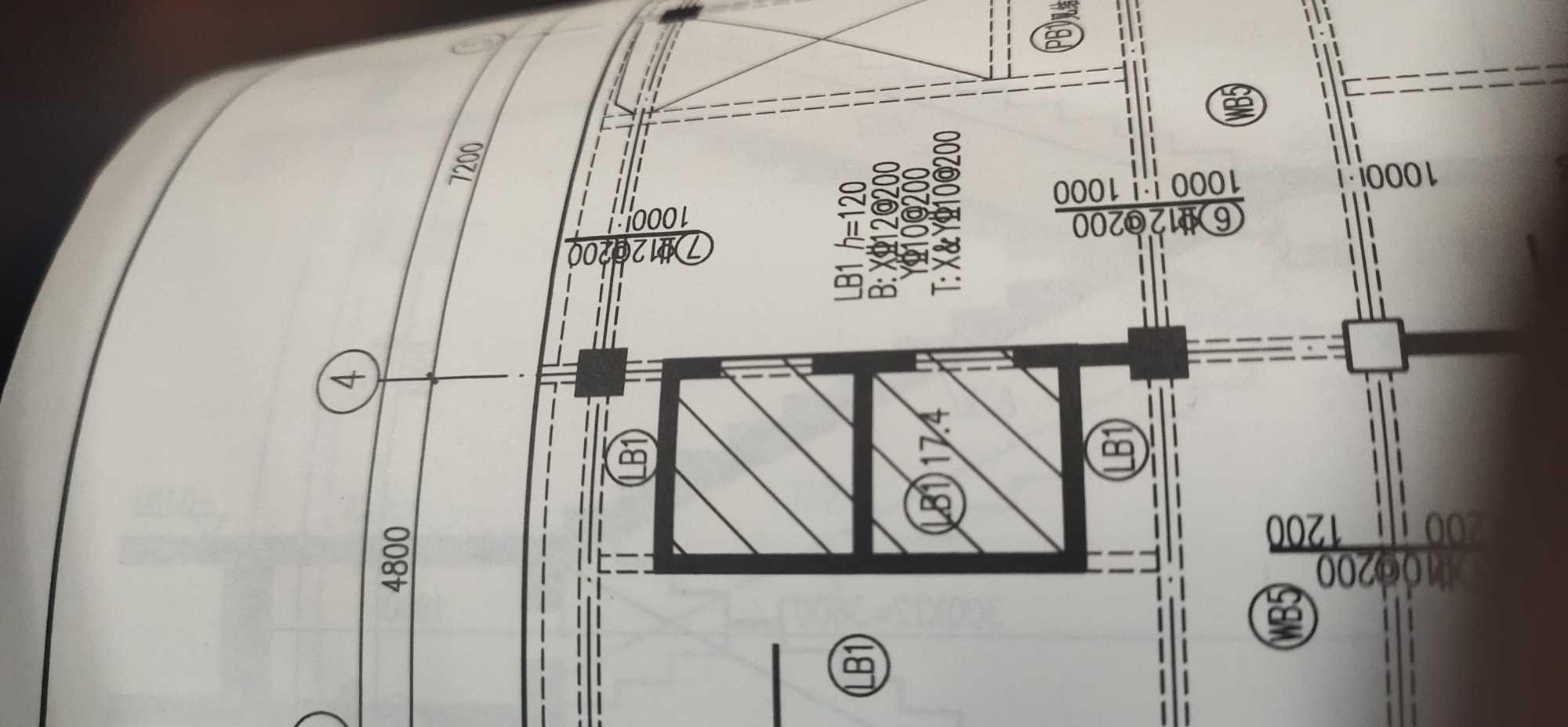 土建,山东,装饰,答疑:图中阴影部分是表示后浇板吗?-山东土建,装饰,