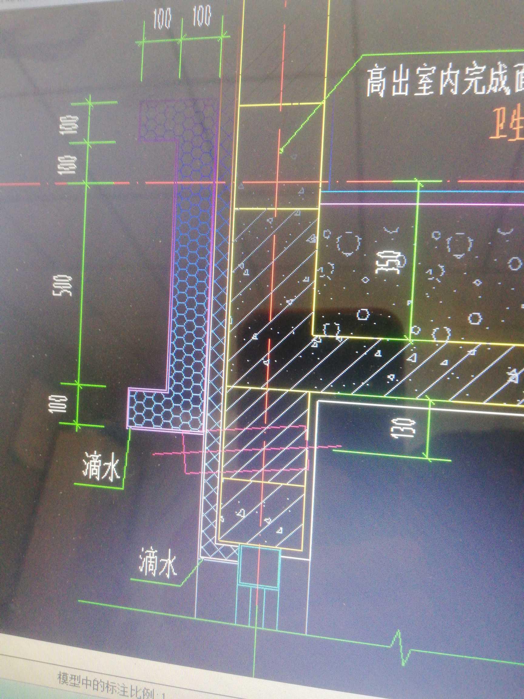土建,江苏,答疑:建筑平面图上节点图中线脚下面的还是斜向举行方框该怎么理解?-江苏土建,