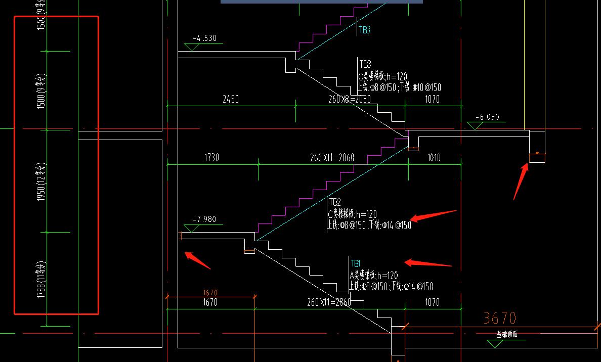 北京,土建,答疑:我这种楼梯应该选择那种参数的啊?-北京土建,