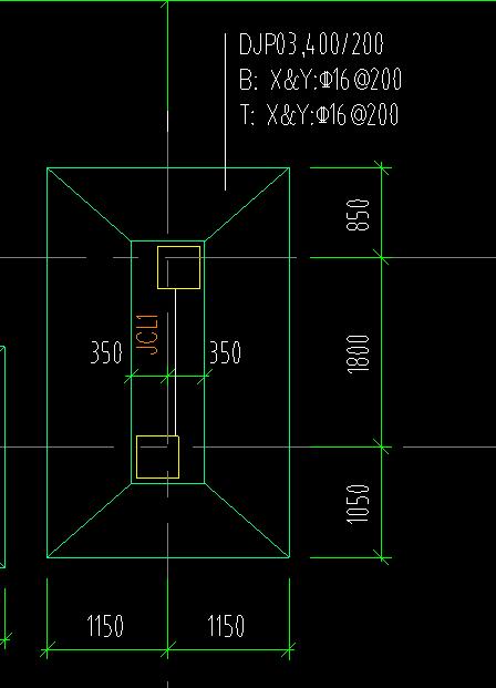 土建,土建计量GTJ,河南,答疑:请教按照图上标注的基础梁高度为基础高度,那基础梁在什么位置?是基础里面吗?-河南土建,土建计量GTJ,