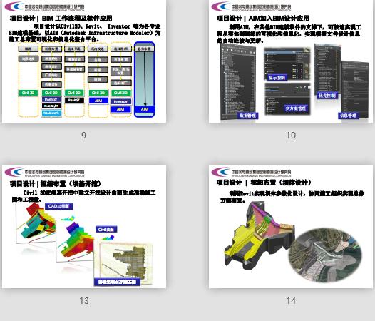 黄登水电站、施工总布置BIM协同设计、BIM协同设计成果汇报,黄登水电站施工总布置BIM协同设计成果汇报