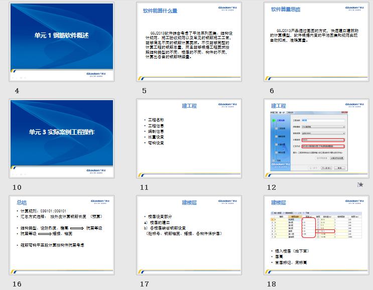 GGJ2013,基础培训课程,钢筋抽样软件,广联达钢筋抽样软件GGJ2013基础培训课程ppt