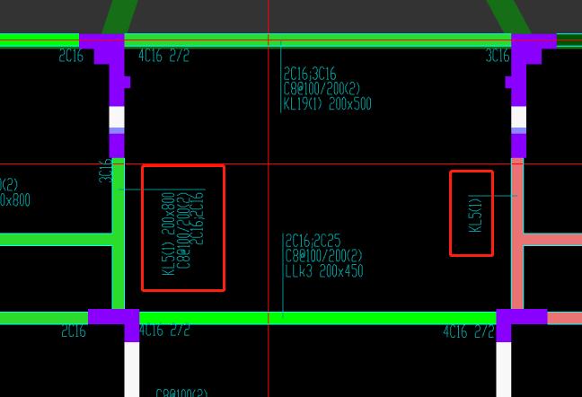 四川,土建计量GTJ,结算,答疑:请教一下,下图中右边KL5的原位标注镜像的在GTJ2021中该如何处理?-四川结算,土建计量GTJ,