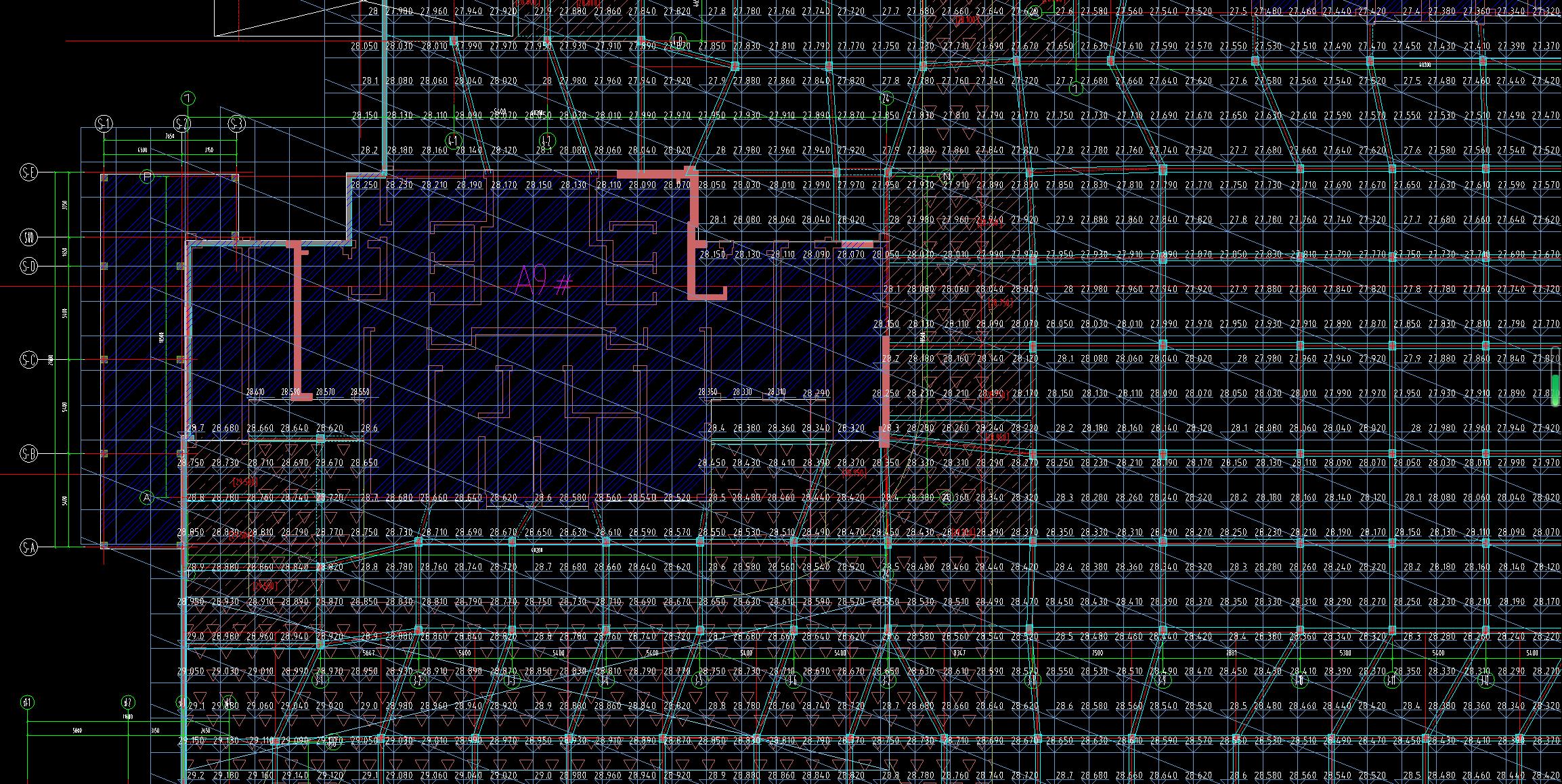 土建,湖北,答疑:正负零绝对标高31.5,如下图所示,地下室层高如何定好-湖北土建,