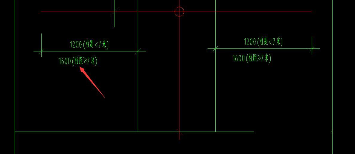 土建,审核,湖北,结算,设计,答疑:柱间距是中心距还是净距-湖北土建,设计,结算,审核,