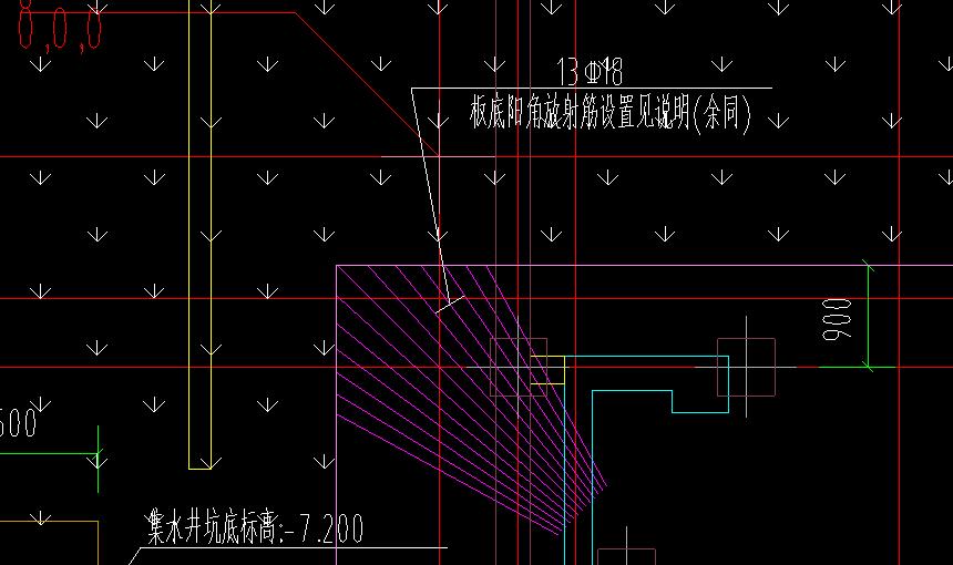 土建,浙江,答疑:筏板放射筋长度如何计算-浙江土建,