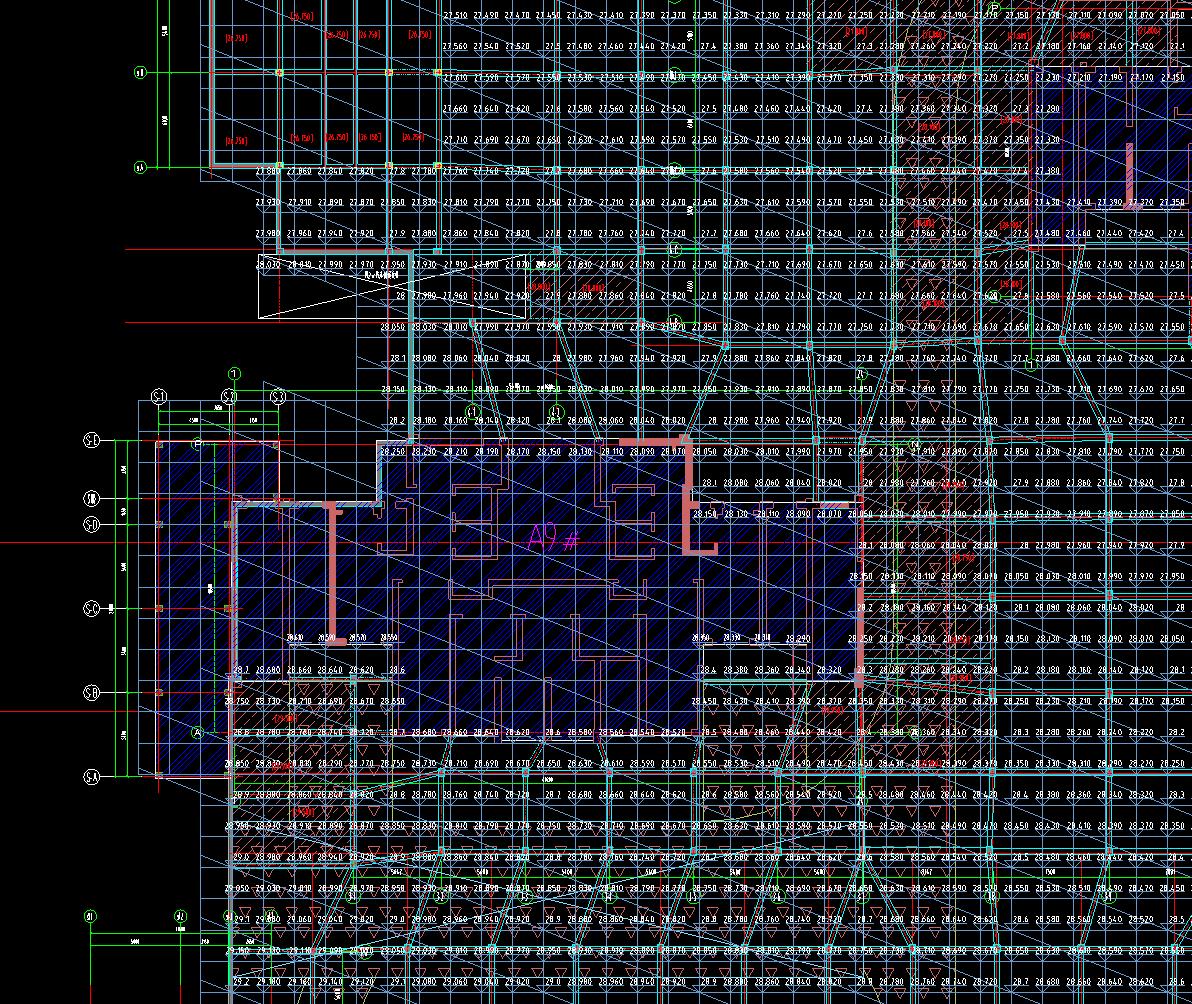 土建,湖北,答疑:地下室全部为斜板,层高如何定好-湖北土建,