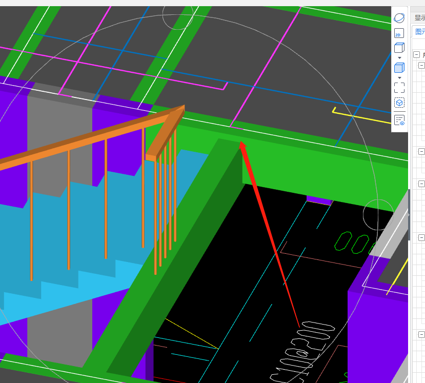 土建,土建计量GTJ,河北,答疑:算工程量平台楼梯布置问题-河北土建,土建计量GTJ,