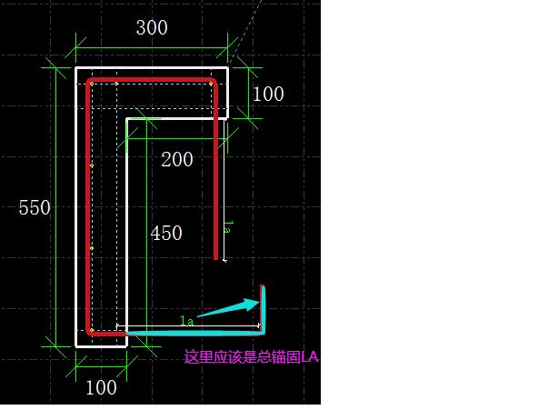 土建,土建计量GTJ,重庆,预算,答疑:这个节点的锚固钢筋如何画呢,我画出来很奇怪-重庆土建,预算,土建计量GTJ,