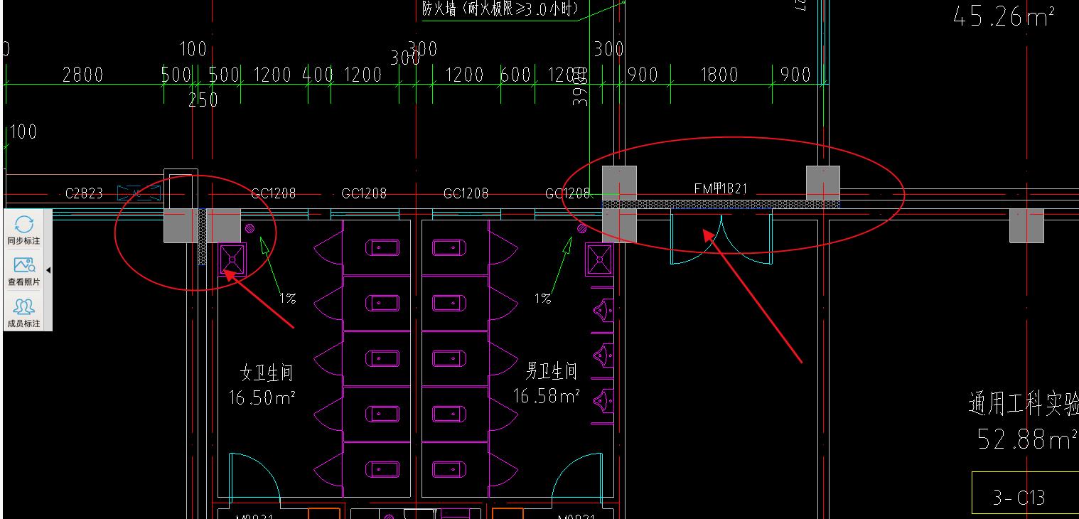 土建,河南,答疑:这些地方是不是外墙变形缝? 我计算变形缝就算这些图纸标注的地方?-河南土建,