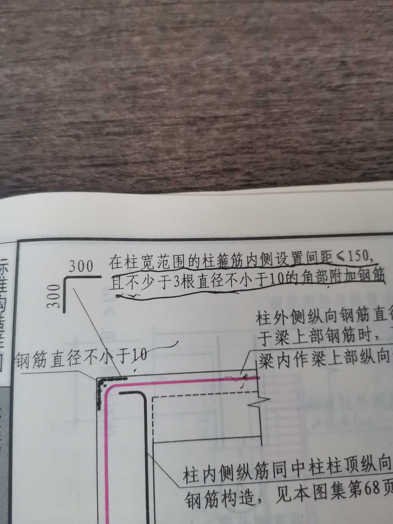 土建,山东,答疑:柱的角部附加筋是只有顶层需要布置嘛-山东土建,
